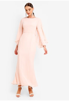 e255d202d9dbf 42% OFF Zalia Back Drape Dress S$ 99.90 NOW S$ 57.90 Sizes XS S M L XL