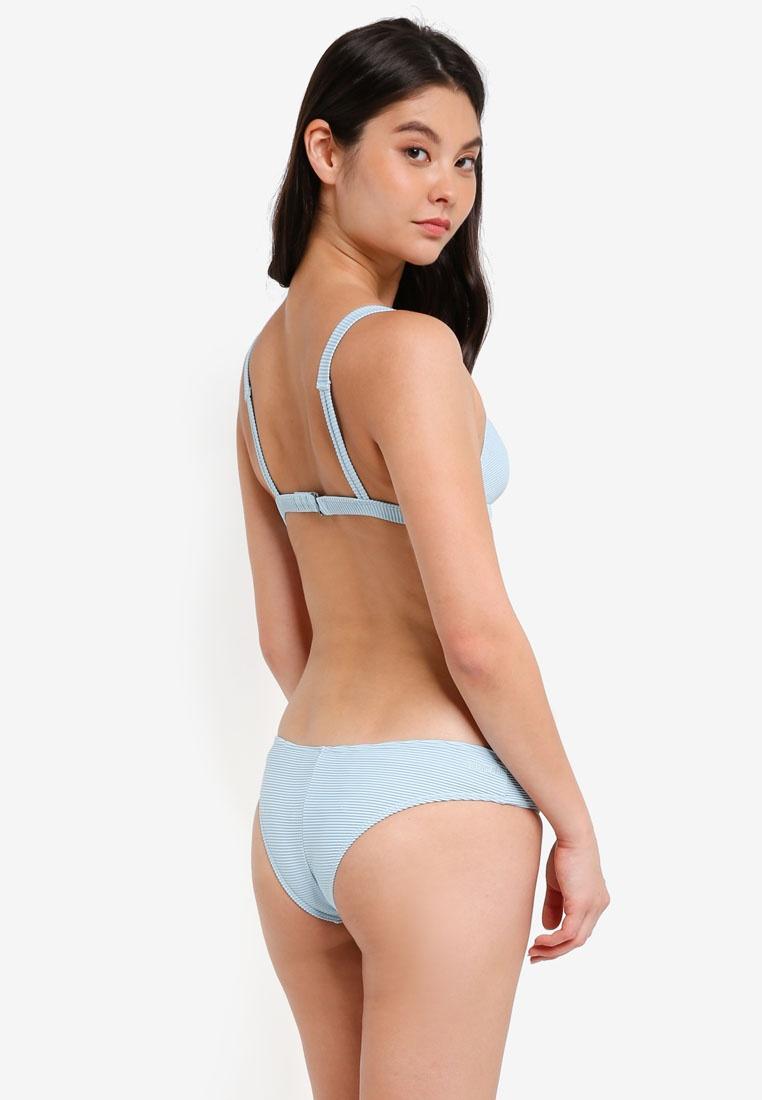Tanlines Tri Bikini Billabong Coolwater Top f08dwwq