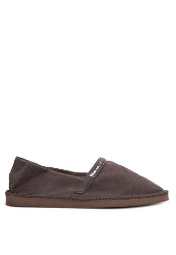 Reva brown Balmond Sandals & Flip Flops RE354SH0ISY9PH_1