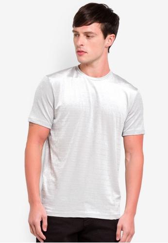 Topman 灰色 燈芯絨T恤 EFCC9AAF959F5BGS_1
