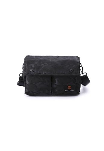 The Dude black Wander Sling Bag TH373AC69RFAHK_1