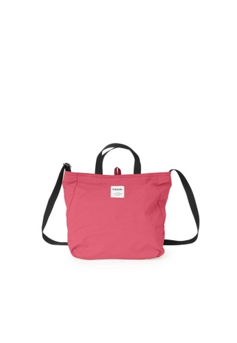Hellolulu red and pink Hellolulu Jolie Double Sided 2 Way Shoulder Bag (Sweet Rouge/Ruby Red) C4CB0AC91A4DC5GS_1