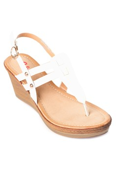 Anna Wedge Sandals