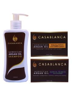 Moroccan Argan Oil Set of 3