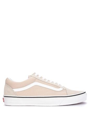 VANS beige Old Skool Sneakers 4DEF8SH2D4D115GS_1