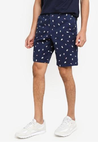 Hollister navy Convo Shorts 1ED84AA102E329GS_1