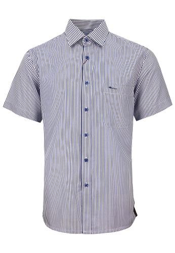 Pacolino blue Casual Smart Long Sleeve Shirt EA0C7AAA9AA10CGS_1