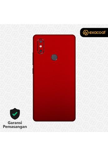 Exacoat Xiaomi Mi Mix 2s 3M Skins True Colors - Lust Red E1EE6ESDFA9DE7GS_1