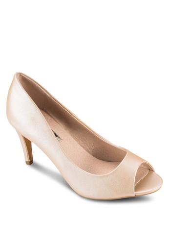 Hesprit outlet 台中ena 露趾高跟鞋, 女鞋, 鞋