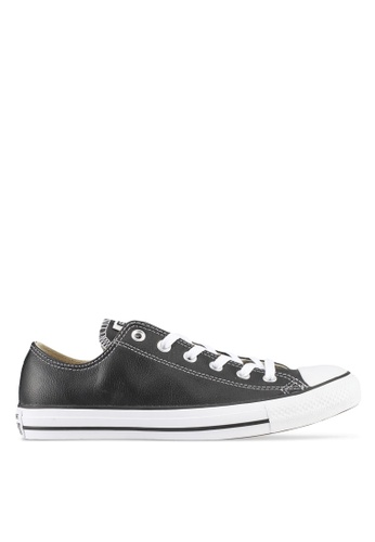 Converse black Chuck Taylor All Star Leather Core Ox Sneakers AKKLXSH0000070GS_1