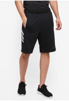 adidas black adidas pick up shorts 20DADAA131F600GS_1