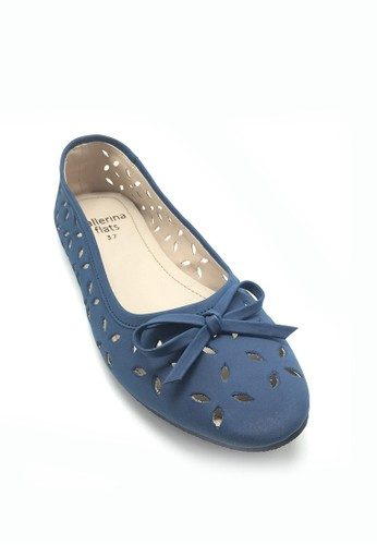 Ballerina Flats navy Miley Blue BA617SH34WINID_1