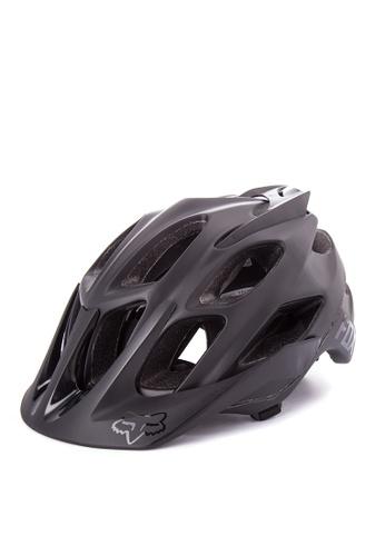 Fox Racing black Flux Helmet FO276AC0KABHPH_1