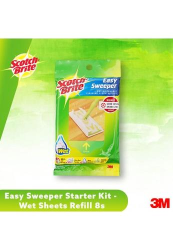 Scotch-Brite 3M Scotch Brite Easy Sweeper Starter Kit - Wet Sheets Refill 8s 467CCES5A19B16GS_1