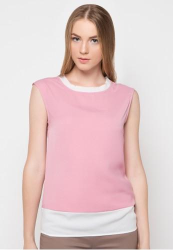 sophistix pink Redd Blouse SO829AA07XCYID_1
