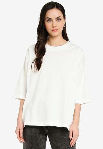 niko and ... white Oversized T-Shirt BED9EAACEEF648GS_1