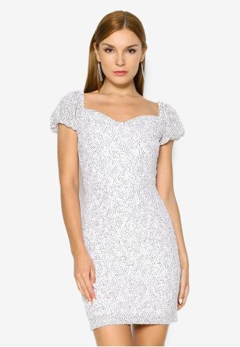 GUESS white Rosita Dress 886AFAA2E812ADGS_1