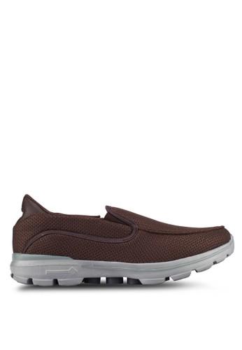 UniqTee brown Lightweight Slip-On Sport Shoes UN097SH0S21FMY_1