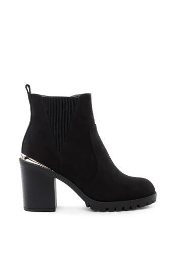 London Rag black Block Heel Chelsea Boot 2395CSHFD7DDF6GS_1