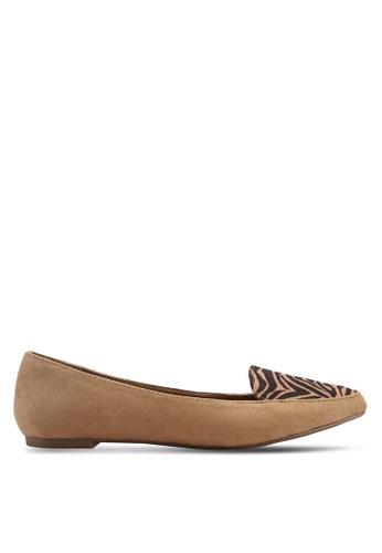 Rubi 褐色 Peta Point 樂福鞋 F7B0CSHC0B8A24GS_1