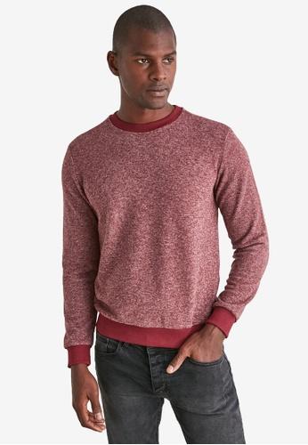 Trendyol red Long Sleeve Sweatshirt E3FF6AA45250A9GS_1