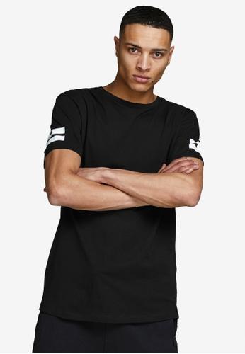 Jack & Jones black Short Sleeves Crew Neck Tee 77A1FAAE7E9628GS_1