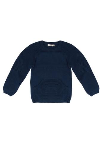 FOX Kids & Baby blue Baby Boy Sweater F9C27KA8F12048GS_1