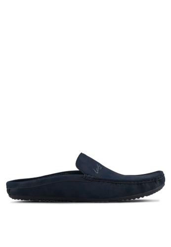 Louis Cuppers navy Casual Slip On Loafers 0DD0FSHC911005GS_1