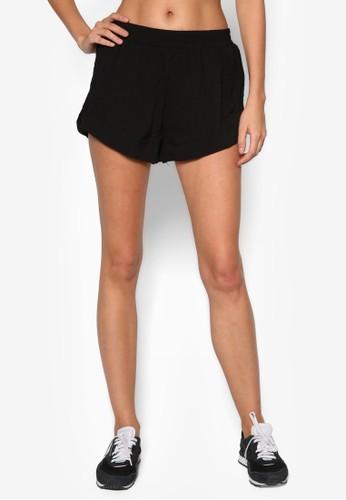 彈性休閒短褲, 服飾, 短zalora 鞋評價褲