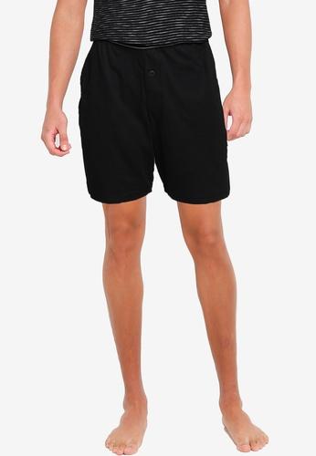 Old Navy black Jersey Pajama Shorts 0EA33AAC324E4EGS_1