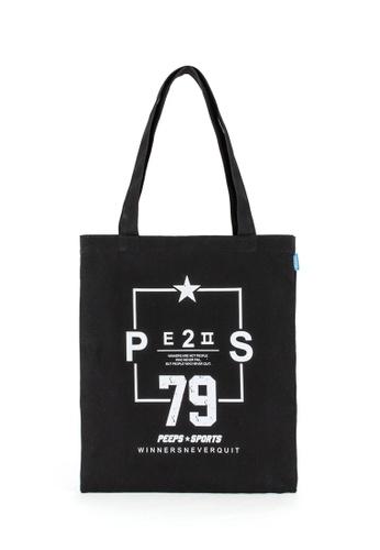 Peeps black 79 Eco Bag 10457ACE6A4A92GS_1