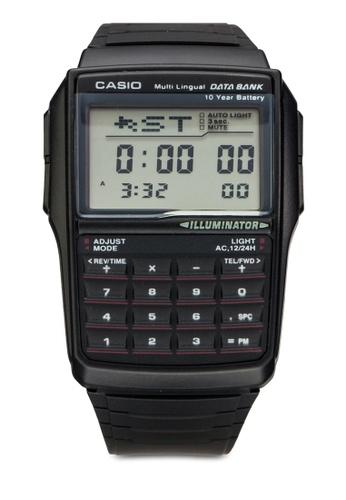 Casio black Casio Men's DBC-32-1ADF Data Bank Black Digital Watch CA843AC49YPYMY_1