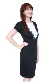Lace Accent Dress Version 2.0