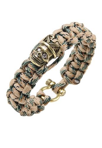 HAPPY FRIDAYS Skull Paracord Bracelet QNW2481 8FE45AC199175FGS_1