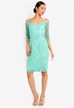 3a9ed0bfebe 50% OFF Paper Dolls Wilton Mint Lace Bardot Dress RM 429.00 NOW RM 214.90  Sizes 8 10 12 14 16
