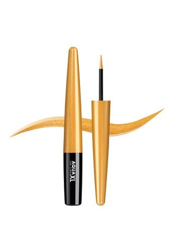 MAKE UP FOR EVER gold AQUA XL INK LINER - Extra Long-Lasting Waterproof Liquid Eyeliner 1,7ML ME-42 D789BBE5101C6CGS_1