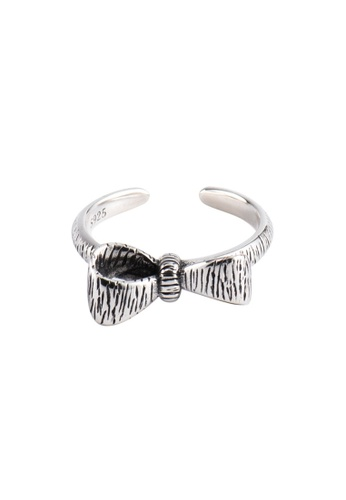 A-Excellence silver Premium S925 Sliver Bow Ring 849C6AC023EAC9GS_1