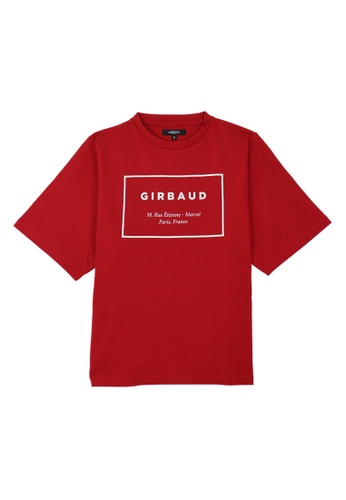 Marithe + Francois Girbaud red Ash Chili Pepper T- Shirts 2494EAA7A47FE4GS_1