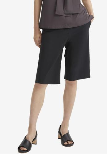 COS black Knee-Length Shorts 5F8F1AA498D9E2GS_1