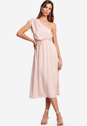 Chancery pink Faith Midi Dress 99019AA0D93340GS_1