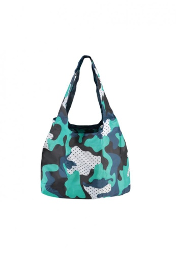 BG Berlin blue Tote Bag (Camouflage Funky) 4FF02ACF1F5605GS_1