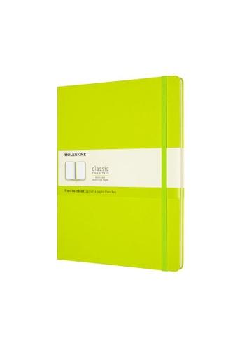 Moleskine green Classic Notebooks Plain Hard Green Xl E04FCHL8D7D1B2GS_1