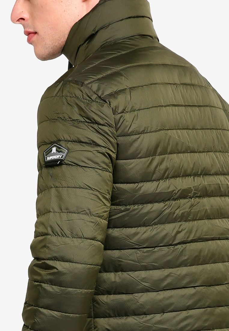 Olive Fuji Superdry Jacket Double Zip qF5vxIw