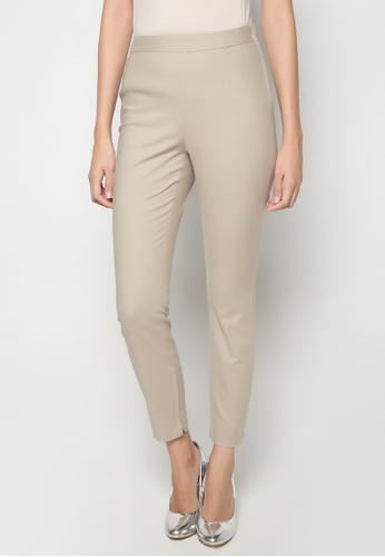 Dolce & Gabbana beige Slim Fit Pants DA093AA40TPFPH_1