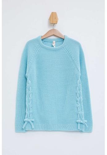 DeFacto blue Girl Tricot Pullover 212D4KAE839A90GS_1