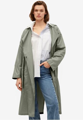Mango beige Foldaway Water-Repellent Raincoat 53E47AAABB1CBDGS_1
