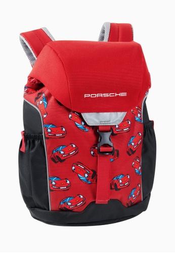 Porsche Driver's Selection red Red Bag Porsche Kids Backpack C180AKC68EEDCFGS_1