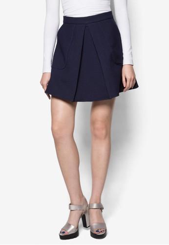 Pleated Skirt, zalora 折扣碼服飾, 裙子