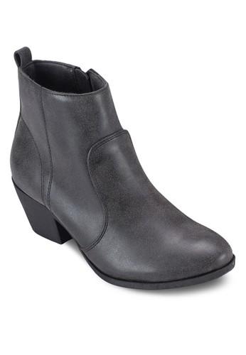 esprit台灣門市Maddison 粗跟踝靴, 女鞋, 鞋