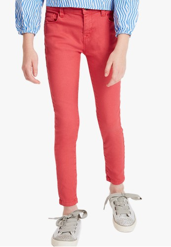 MARKS & SPENCER red Cotton Rich Jeans 26E5DKA7A5EB05GS_1
